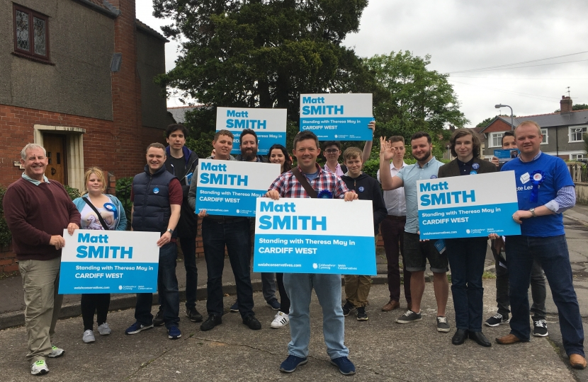 Matt Smith Conservative Cardiff West